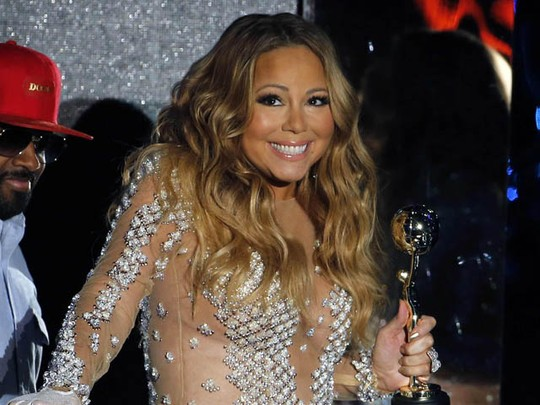 Mariah Carey Glam and Sexy di WMA 2014