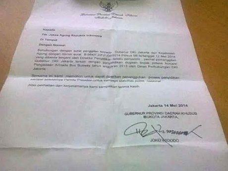Surat Penolakan Dipanggil Kejagung Beredar Jokowi Itu Fitnah