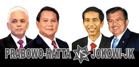 Sama-sama Didukung Artis, Jokowi atau Prabowo yang Ikuti Jejak Obama?