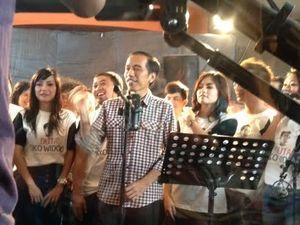 Dapat Dukungan Artis, Jokowi Syuting Video Klip