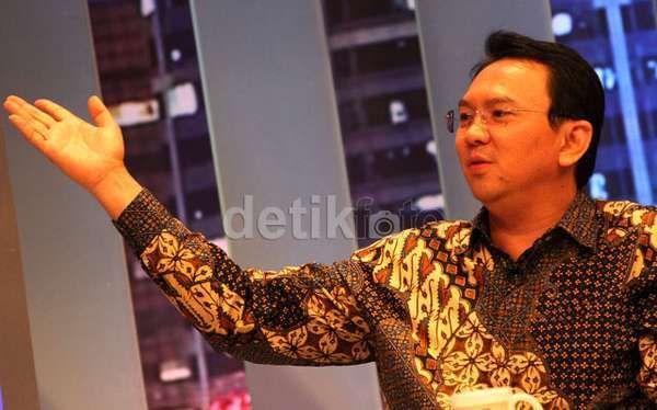 Mulai Hari Ini, Ahok Resmi Jalankan Tugas Plt Gubernur DKI