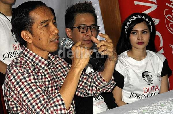 Ini Janji Jokowi untuk Guru Honorer Jika Terpilih Jadi RI-1