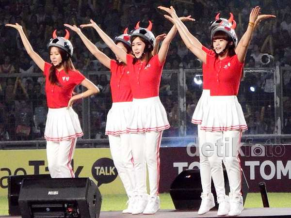 Jumping Bareng Crayon Pop di Asian Dream Cup Jakarta
