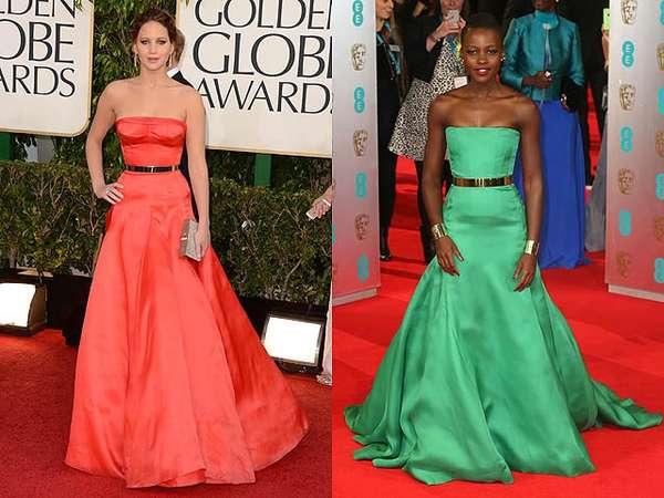 Jennifer Lawrence vs Lupita Nyongo, Who Wore It Better?