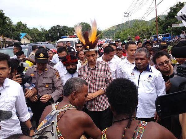 Ini Alasan Jokowi Awali Kampanye Pilpres di Papua