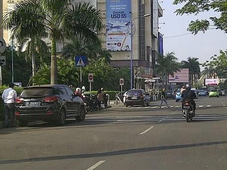 Zebra Cross di Jalan Asia Afrika