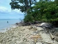 Sisi selatan Pulau Liwungan