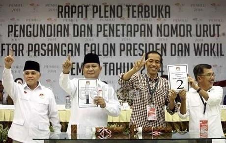 Timses Prabowo Hatta Dan Jokowi Jk Setuju Kontrak Politik Ham