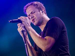 Imagine Dragons Gebrak Premiere Transformers