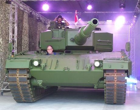Digandeng Rheinmetall, Pindad Bangun Pabrik Amunisi Leopard untuk Asia
