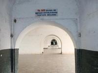 Salah satu lorong bekas asrama tentara Belanda
