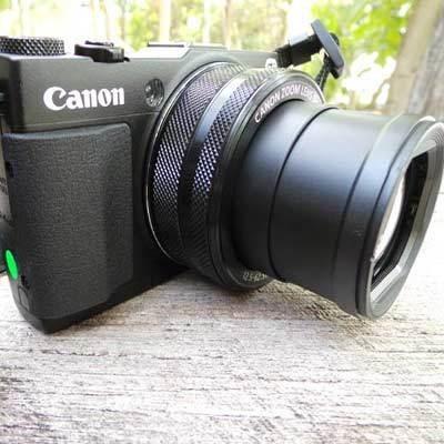 Canon G1X Mark II: Kamera Compact Rasa DSLR