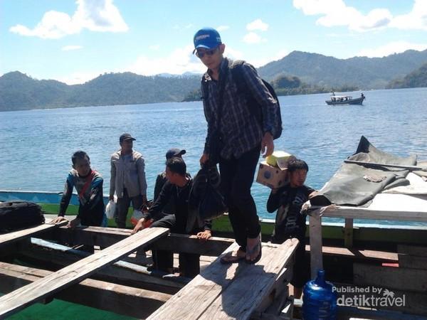 Sampai di Pulau Sikuai