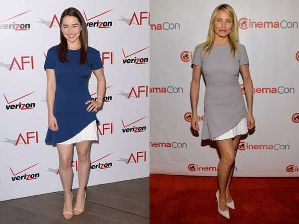 Emilia Clarke vs Cameron Diaz, Who Wore It Better?