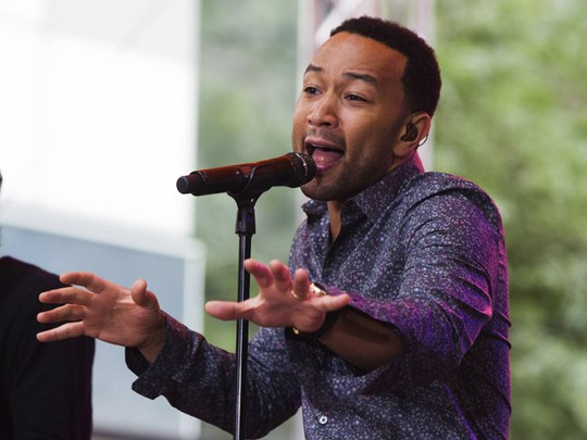 John Legend Hibur Penonton di Today Show