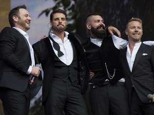 Boyzone Reuni di British Summer Time 2014