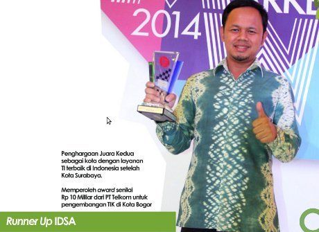 Baru 3 Bulan, Program Serba Online Bima Arya di Bogor Raih Penghargaan