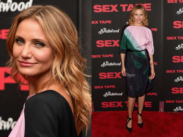 Cameron Diaz Fresh di Premiere Sex Tape