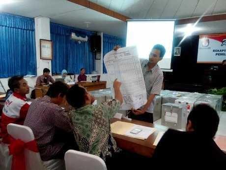 Jokowi-JK Menang di 35 Kabupaten/Kota di Jateng
