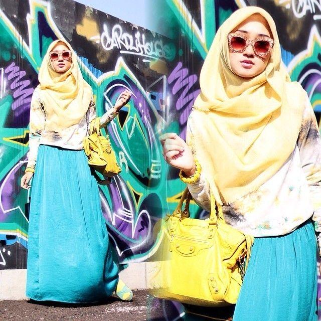 Trik Padu Padan Busana Muslim Untuk Yang Berpinggul Besar Dari Dian