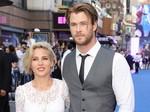 Chris Hemsworth Mesra dengan Istri