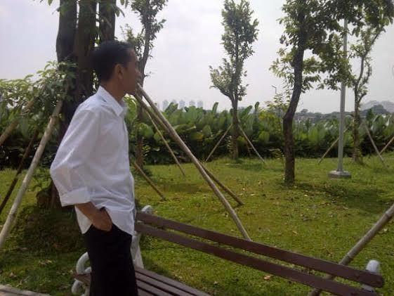 Jokowi Janji akan Tetap Blusukan bila Jadi Presiden