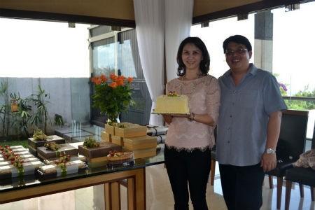 Amaro Cheese Cake : Lezat di Lidah, Indah di Pandang