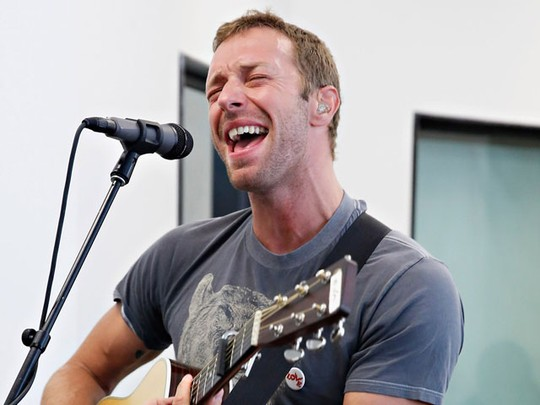 Chris Martin Ramaikan Elvis Duran Z100 Morning Show
