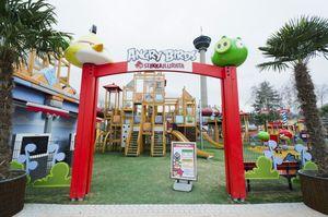 Angry Birds Land yang Bermimpi Jadi Disneyland