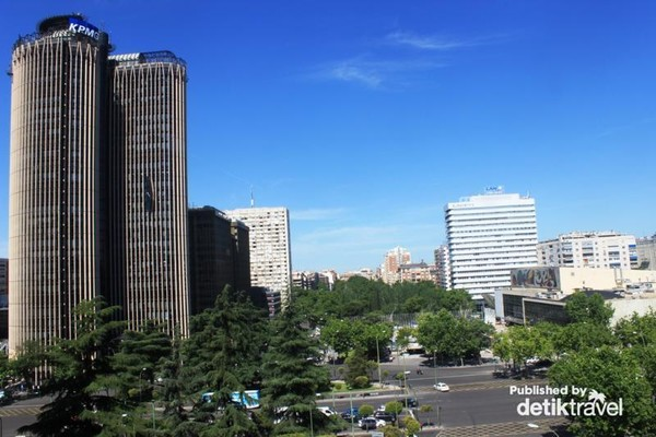 Kota Madrid yang modern