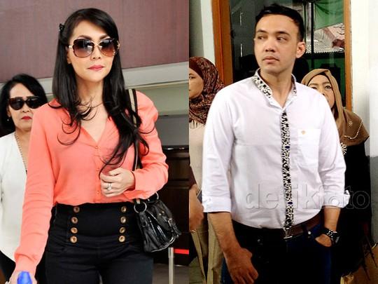 Tessa Kaunang dan Sandy Tumiwa di Sidang Cerai Perdana