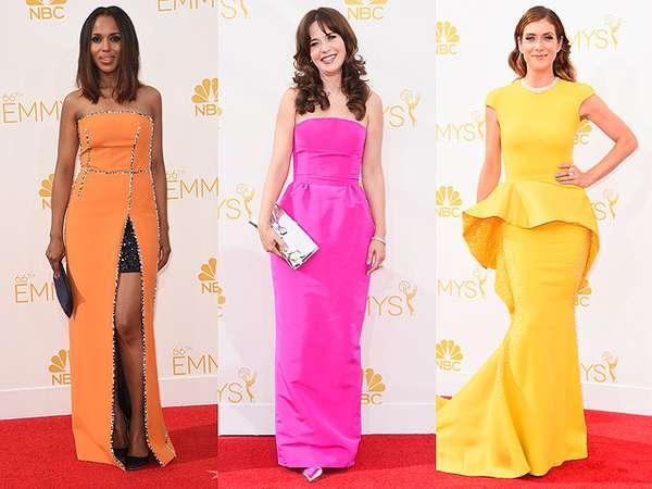 Warna-warni Gaun Selebriti di Emmy Awards 2014