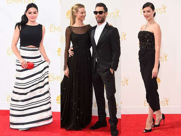 Parade Gaun Hitam di Emmy Awards 2014