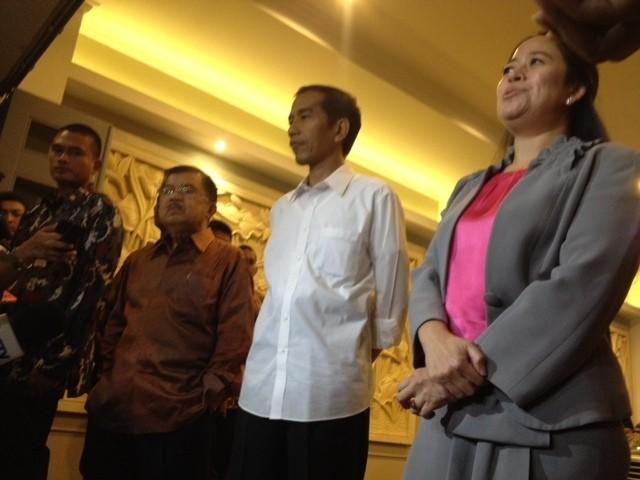 Bahas APBN, Jokowi-JK Gelar Pertemuan Tertutup dengan Megawati dan Puan