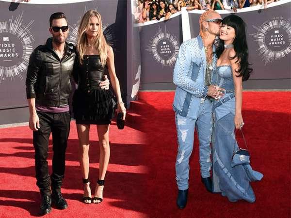 Pasangan Paling Hot di MTV VMA 2014