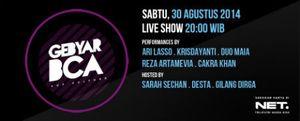 Pop Culture di Gebyar BCA Sabtu, 30 Agustus 2014
