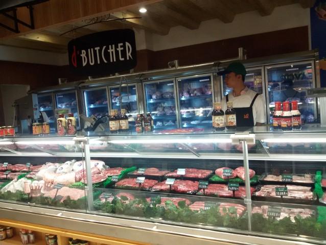 Dbutcher counter aneka daging