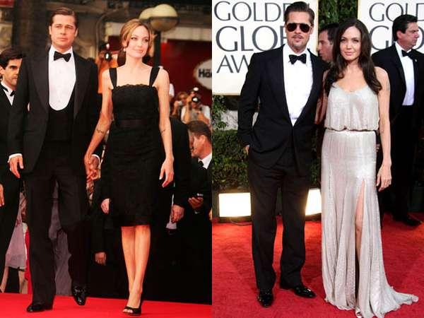 Keserasian Brad Pitt dan Angelina Jolie di Red Carpet (1)