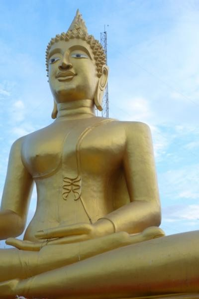 Ini Dia Patung Buddha Raksasa di Pattaya, Thailand