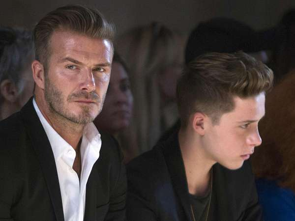 Like Father Like Son, David Beckham dan Brooklyn