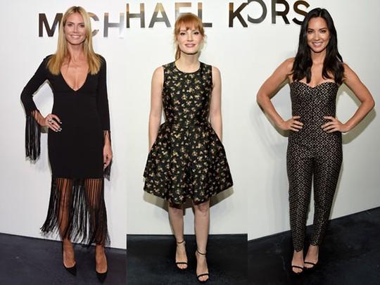 Gaya Selebriti di Fashion Show Michael Kors