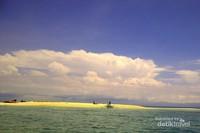 Pulau Pasir atol terindah seperti di Maladewa
