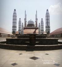 Masjid Agung Semarang.