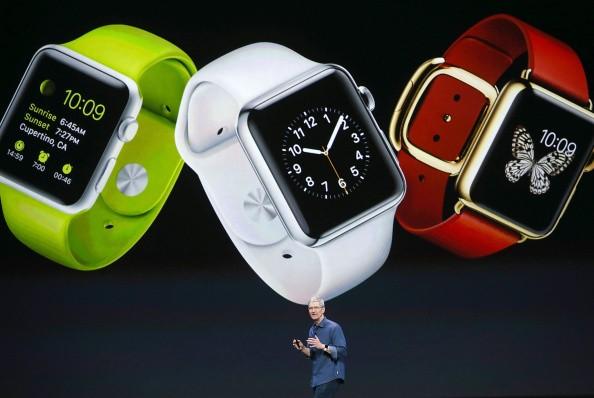 Tim Cook Memperkenalkan Apple Watch Gettyimages