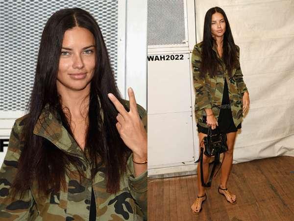 Army Style ala Adriana Lima