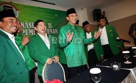 Sowan ke KH Maimun Zubair, Elite PPP Laporkan Pemberhentian SDA