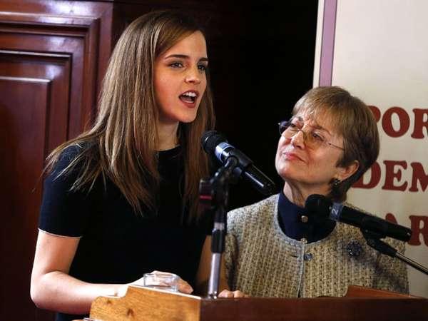 Si Cantik Emma Watson Kunjungi Uruguay Sebagai Duta PBB