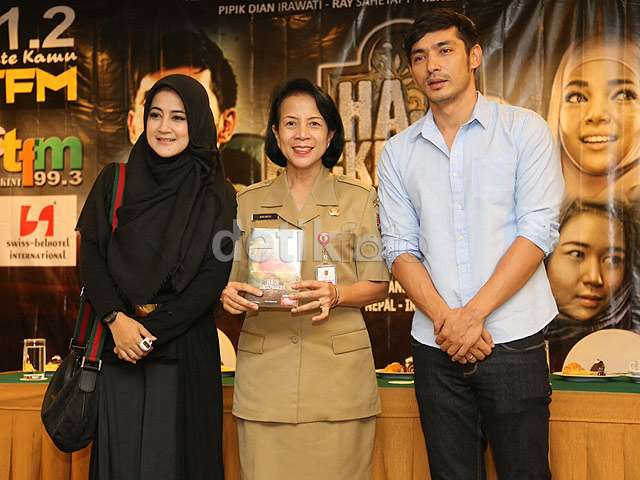 Kebersamaan Abimana dan Pipik di Semarang