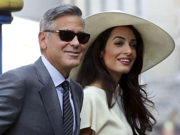 George Clooney dan Amal Alamuddin Resmikan Pernikahan
