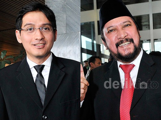 Lucky Hakim dan Jamal Mirdad Dilantik Jadi Anggota DPR
